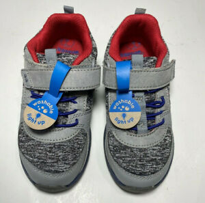 Toddler Boys Light Up Grey Shoe Size 4 Surprize by Stride Right Ardo