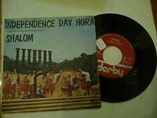 "CHURCHILL&ORCHESTRA""SHALOM-disco 45 giri DERBY Italy 1967"""