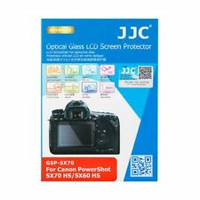 JJC GSP-SX70 0.3mm Glass LCD Screen Protector for Canon Powershot SX70HS, SX60HS