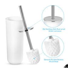 Stainless Steel Toilet Brush and Holder Set Toilet Cleaner for Home Closestool