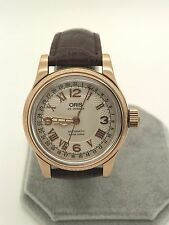Oris Pionter Rose Gold Big Crown Pointer Date Swiss Automatic Men's Watch