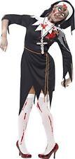 Smiffys Smiffy's - Costume da Suora Zombie Donna Taglia S