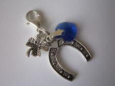 Bride Gift / Charm / Trinket  for Bouquet / Garter - Something Blue
