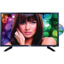 "NEU 24"" Slim LED LCD HDTV Fernseher DVD Player USB/SD HDMI PC VGA 12V Auto Kabel"