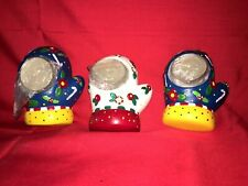 Christmas Mary Englebreit Mittens Tea Lites X 3 Nib