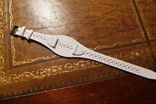 GENUINE REAL LEATHER TED BAKER WHITE CUFF WATCH STRAP 14 MM