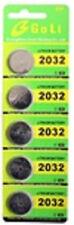 5 Piece Lithium Batteries, CR2032