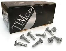 TIMco Low Profile Pan Head Self Drilling Metal Framing Screws Bolt 4.8 x 16mm