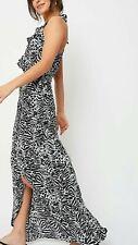 Womens animal print wrap Dress Size 16