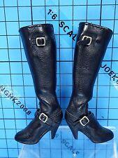 Hot Toys 1:6 The Spirit MMS92 Silken Floss Figure - Black Boots (Feet Inside)