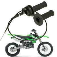 "7/8"" Throttle Handle Grip Cable Assembly For ATV Quad Pit Dirt Bike 90 110 125CC"