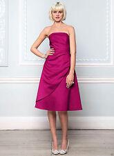 Satin Sleeveless BHS & Formal Dresses for Bridesmaids