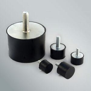 4-Pack: Simple 10 - 1,000 Kg Rubber Machine Foot or Bumpstop