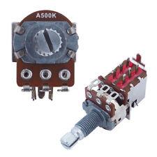 A500K Alpha Logarithmic Linear PUSH PULL Guitar Potentiometer DPDT Coil Split
