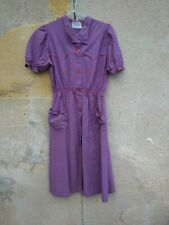 ancienne robe , blouse campagne , rurale / 141