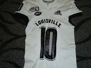 Louisville Cardinals Football Rodjay Burns Game used Ali Tribute Jersey