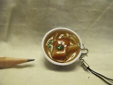 V063 Dollhouse Pork belly bowl soup noodles w/ onion chinese food 1:6 Miniature