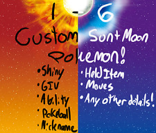 Pokemon Sun Moon Custom 6IV Shiny Competitive Any Pokemon Guide