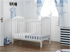 Obaby LILY COT Baby Child Nursery Furniture White BN