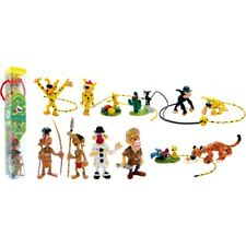 Figurine Tube Marsupilami and friends 12 Mini-figurines Plastoy NEW