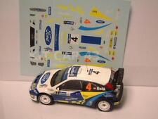 "DECAL CALCA 1/43 FORD FOCUS WRC ""MOVISTAR"" D. SOLA - RALLY MEXICO 2005"