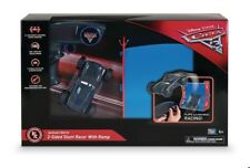 NEW Disney Cars 3 Radio Control RC Jackson Storm Ramp Stunt Racer 2 sided