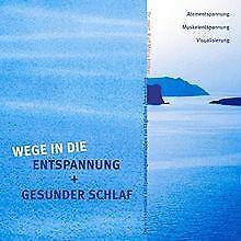 Wege in die Entspannung + Gesunder Schlaf. Audio-CD - At... | Buch | Zustand gut