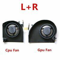 NEW CPU Fan GPU Fan Cooling Cooler For Dell Alienware 17 R4 17 R5 P31E L+R DC5V
