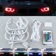 mult color remote led SMD Angel Eye Halo Ring lights For BMW F30 F35 F82 M3 M4