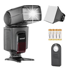 TT520 Speedlite Flash Kit with 5-in-1 Remote Control for Canon Nikon Olympus