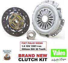 VALEO Kit de embrague para FIAT PALIO SIENA 1.6 16v 1997- > En Adelante 3piece