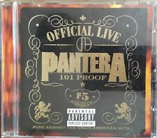 Pantera - Official Live: 101 Proof  - CD