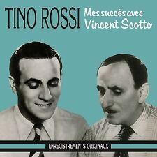 CD Tino Rossi : Mes Succès Avec Vincent Scotto