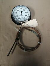 Budenberg Thermometer, vintage boat, train steam, 200-1000 degrees