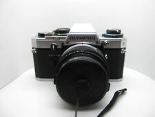 Olympus OM 10 &  50mm 1:1.8 Lens W/ Filter Lens/Shoulder Straps (2B)