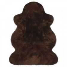 Lammfelle Australisches Lammfell Braun ca. 100 x 68 cm