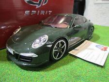 PORSCHE 911 CLUB COUPE verde 1/18 GT SPIRIT GT007CS coche miniatura colección