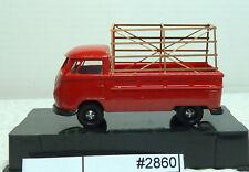 (2860-600) Brekina VW T1 Pritsche mit Metallgestell top Zustand