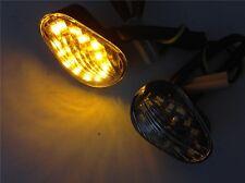 Smoke Euro LED Flush Mount Turn Signal for YAMAHA YZF R1 R6 R6S 2006 2007 2008