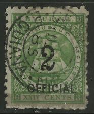 British Guiana  1881  Scott # 102  USED