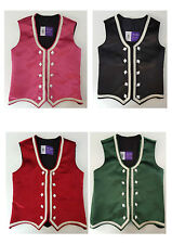 Highland Dance Vests Choice of colours child to adult sizes Scottish Brand new