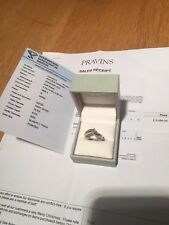 PRAVINS PLATINUM DIAMOND ENGAGEMENT RING