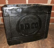 Vtg 40s 50s DELCO REMY GM GENERAL MOTORS Plastic Battery Box Gas & Oil Display