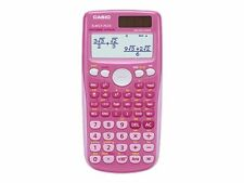 Casio FX-85GTPLUSPKSB-UH Scientific Calculator, Pink