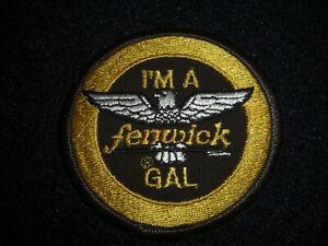 I'm A Fenwick Gal Fly Fishing Patch 1980's Original