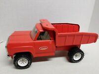 1974-75 Tonka Orange Dump Truck Clean !!!