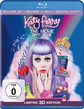 3D Blu-ray * KATY PERRY - PART OF ME (OMU) (3D +2D BR + DVD) # NEU OVP