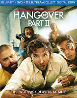 The Hangover Part II (Blu-ray/DVD, 2011, 2-Disc Set, Includes Digital Copy Ultr…