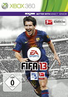 FIFA 13 Microsoft Xbox 360 2012 DVD-Box Virtuelle Bundesliga OVP