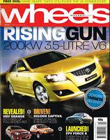 Wheels November 2006: New Aurion. HSV Grange. FPV F6. Captiva. Fairmont Ghia BF